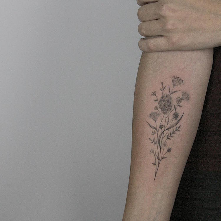 Tatuagens tao delicadas que parecem feitas a lapis