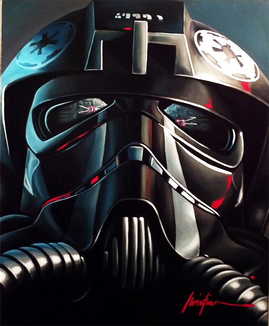 Reflections: New Star Wars Artworks by Christian Waggoner