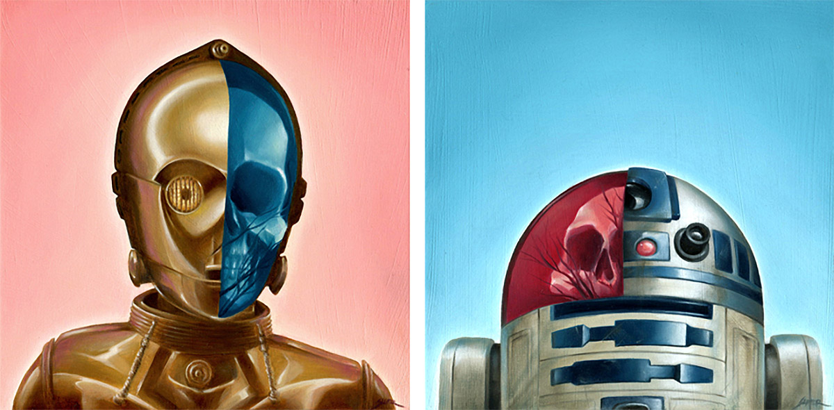 Pop Culture Oil Paintings by Bennett Slater