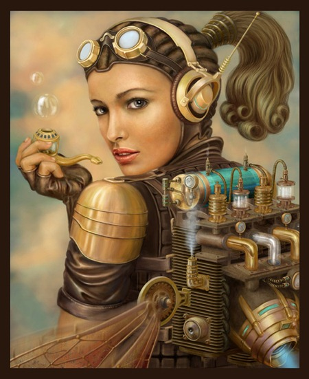 Steampunk Illustrations and Computer-generated Imagery