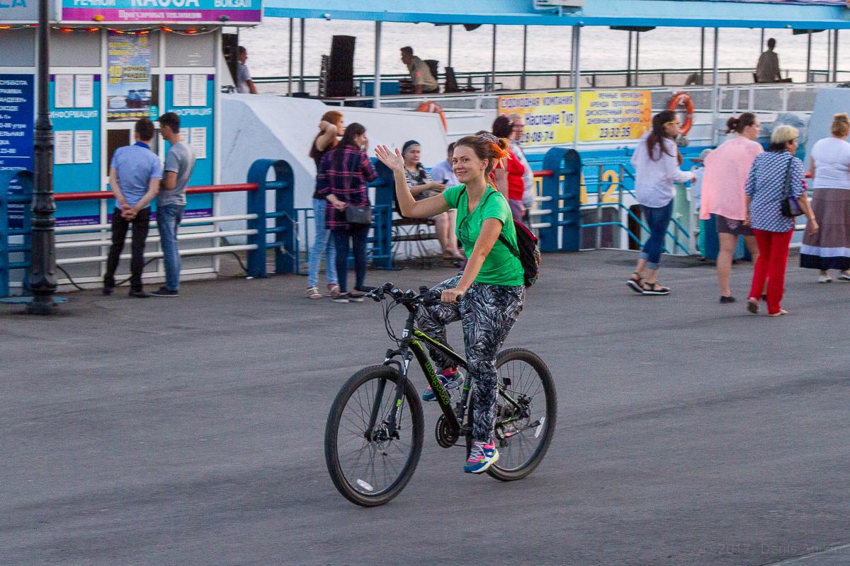 велопарад Леди на велосипеде фото 6
