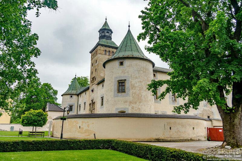 Битча. Битчьянский замок