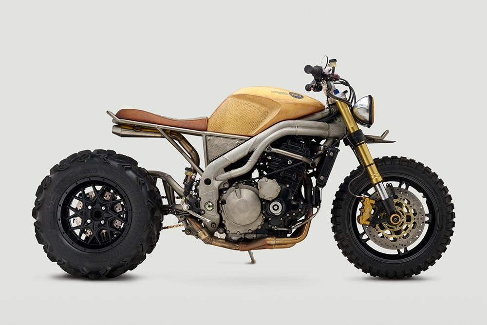 Classified Moto: кастом Triumph Speed Triple 1050