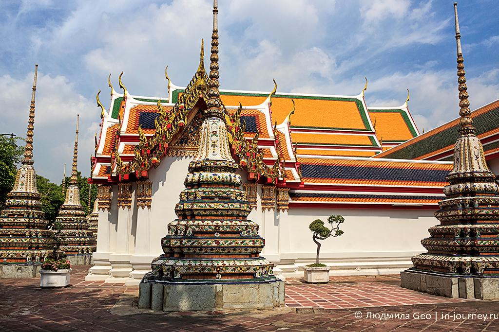 храм лежащего будды в бангкоке фото