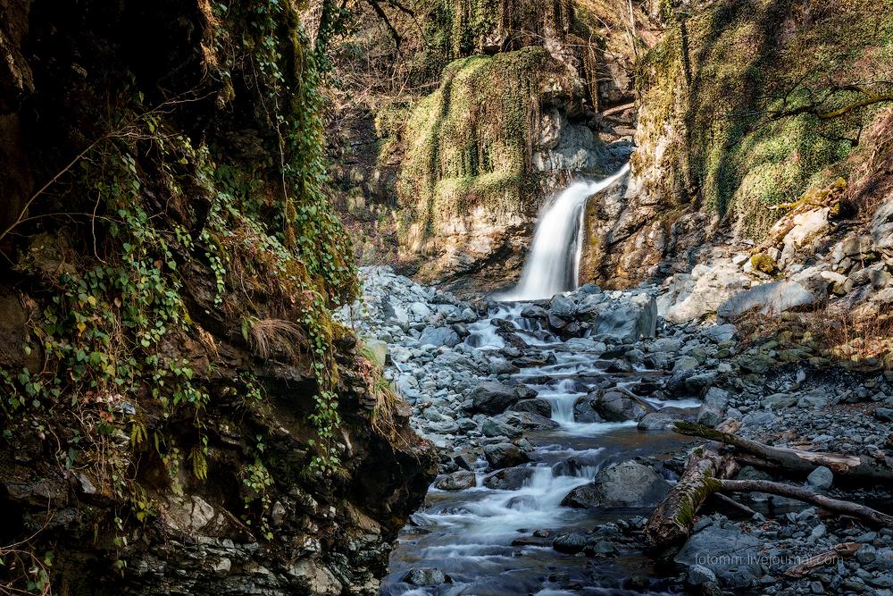 Грузинский ностальжи-трип. Водопад Шромисхеви.