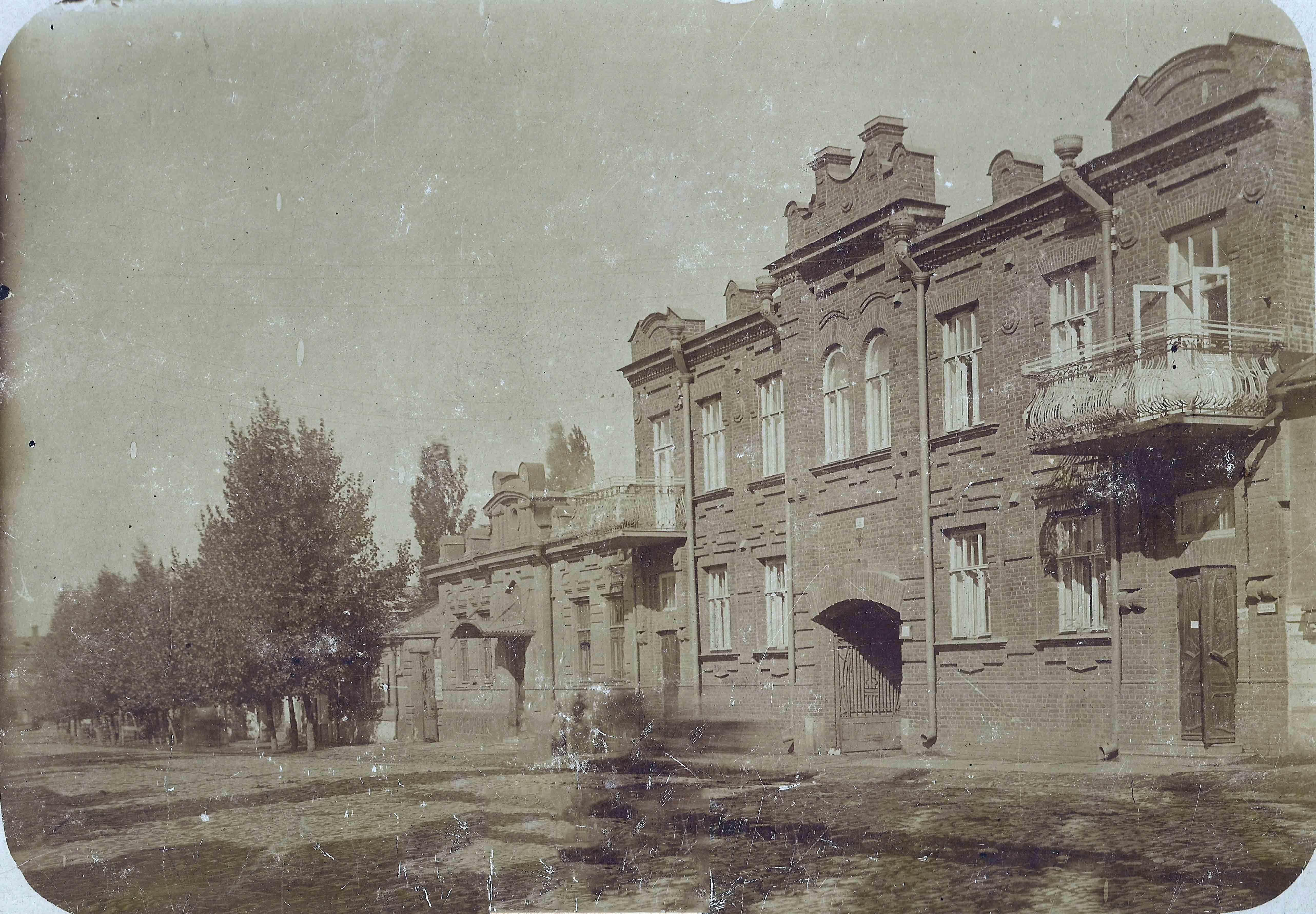 Здание по ул Горбатой