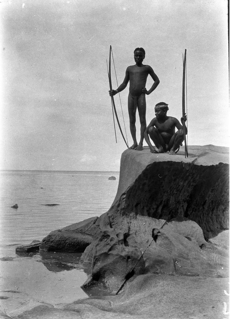 1211. Народность онге. Рыбаки
