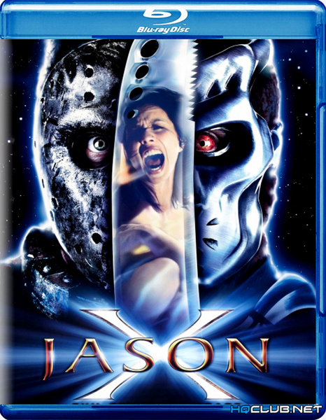 Джейсон Х / Jason X (2000/BDRip/HDRip)