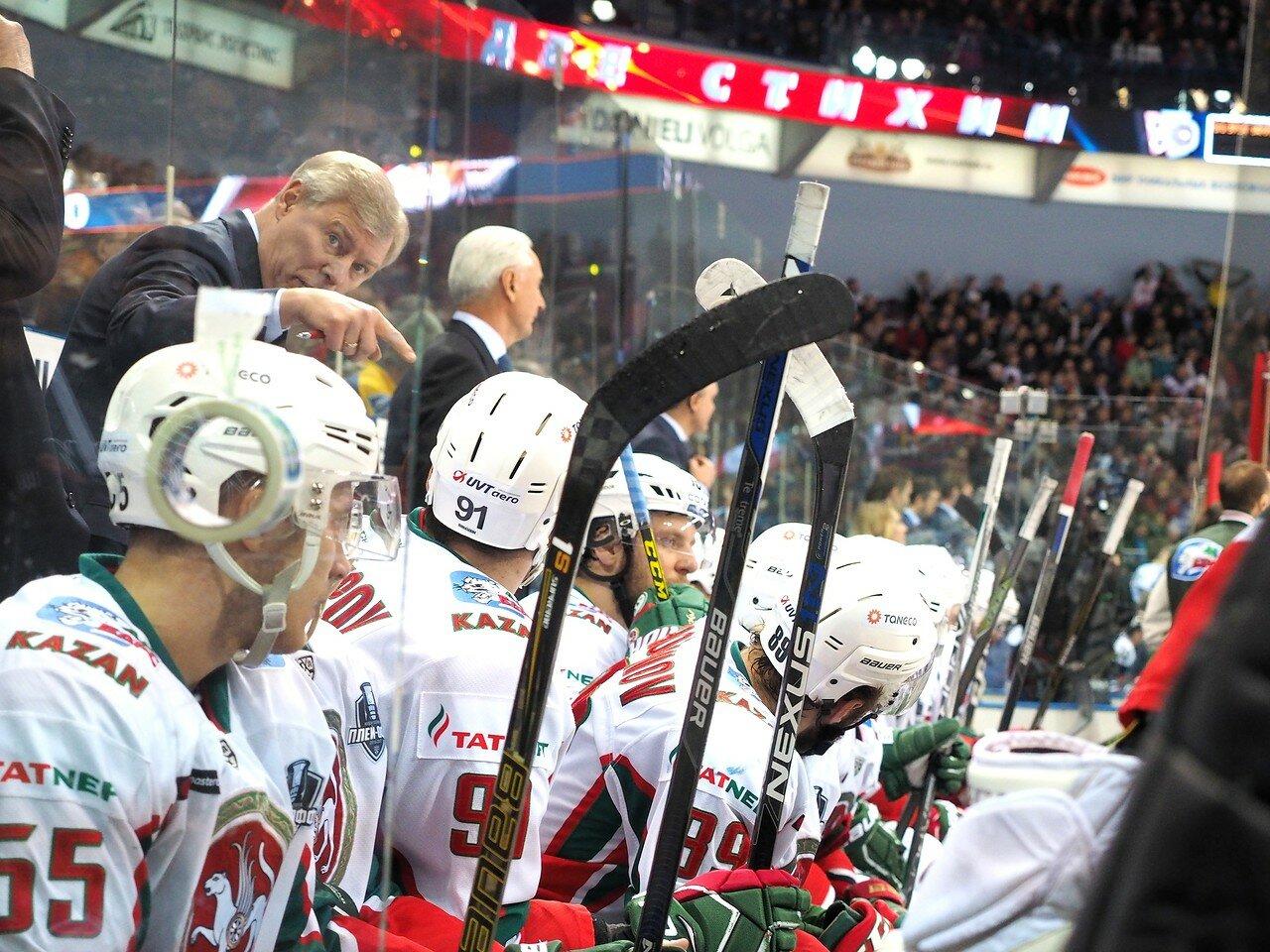 87 Первая игра финала плей-офф восточной конференции 2017 Металлург - АкБарс 24.03.2017