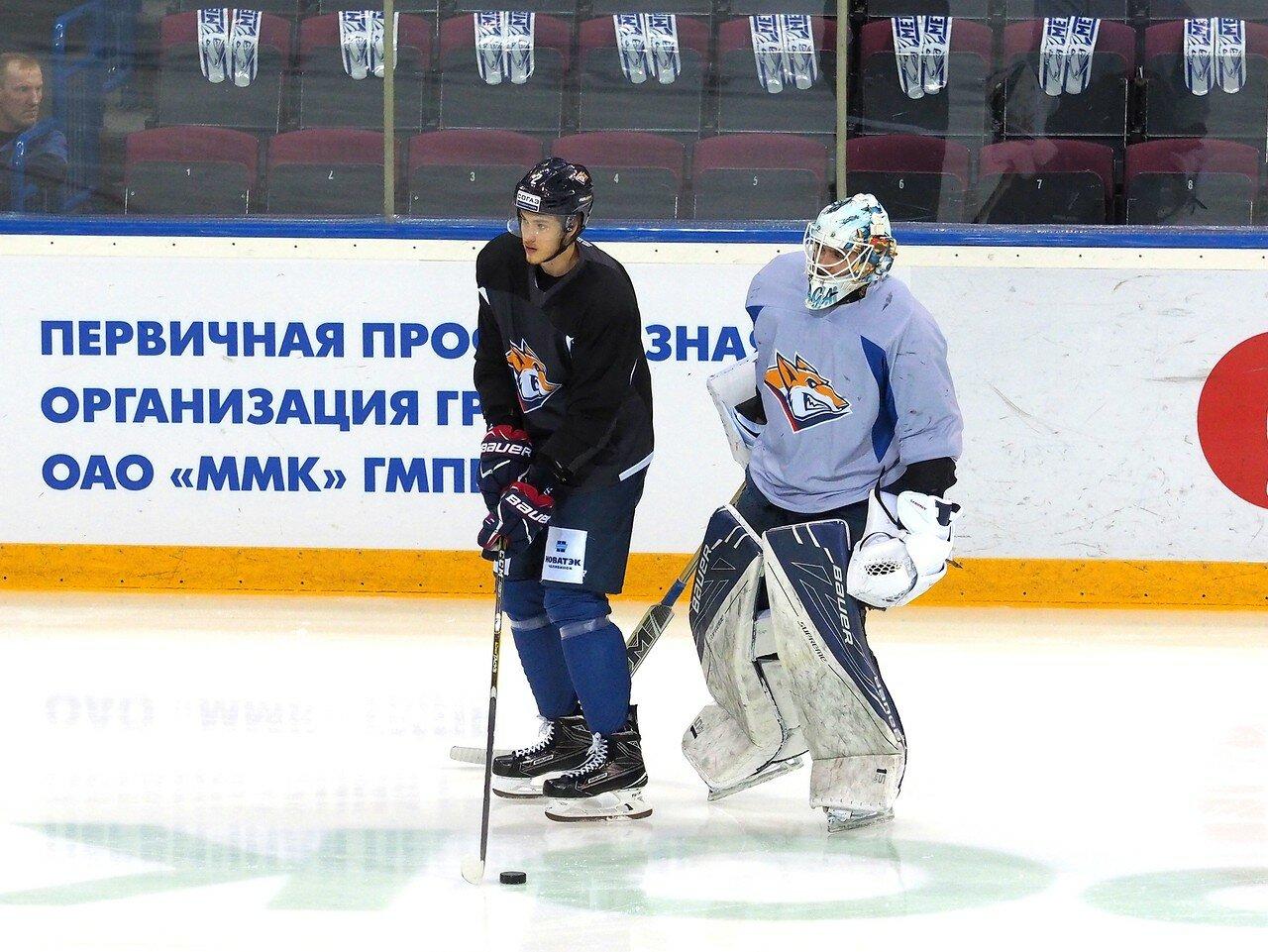 3 Открытая тренировка перед финалом плей-офф КХЛ 2017 06.04.2017