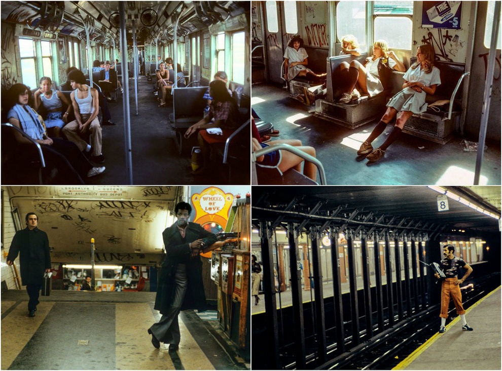 «Ад на колесах»: фото нью-йоркского метро 80-х годов
