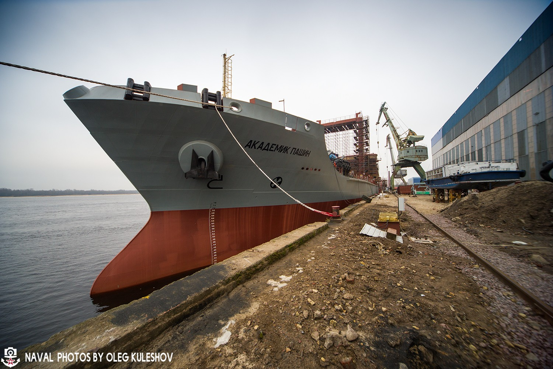 """Танкер """"Академик Пашин"""" для Северного флота"""