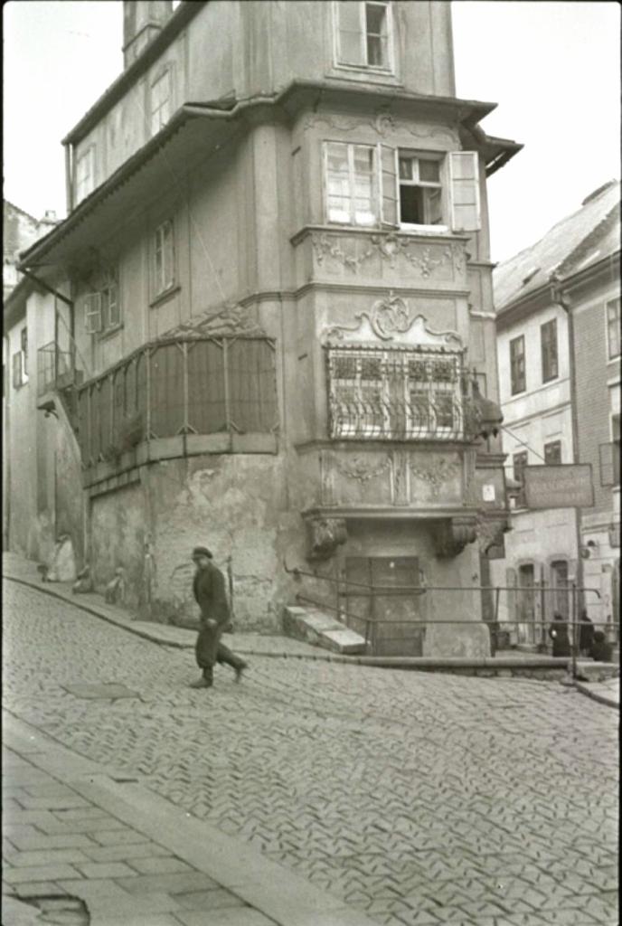 Еврейский квартал Братиславы. 1935-1938 год.