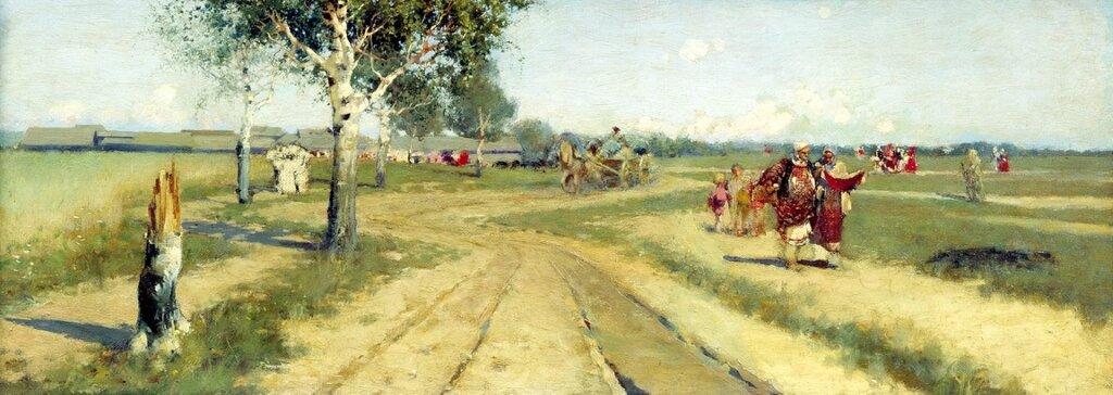 Возвращение с ярмарки. 1886.jpg