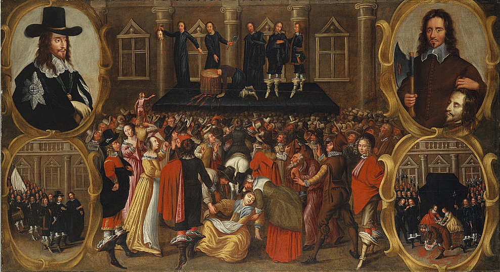 The Execution of Charles I, by an unknown artist