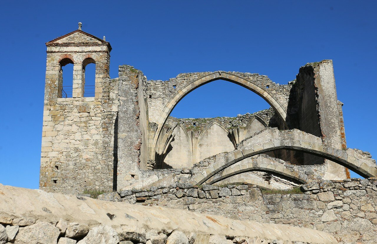 Church of Santo Domingo ruins, Trujillo