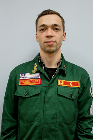 Работник штаба – Кашлев Николай