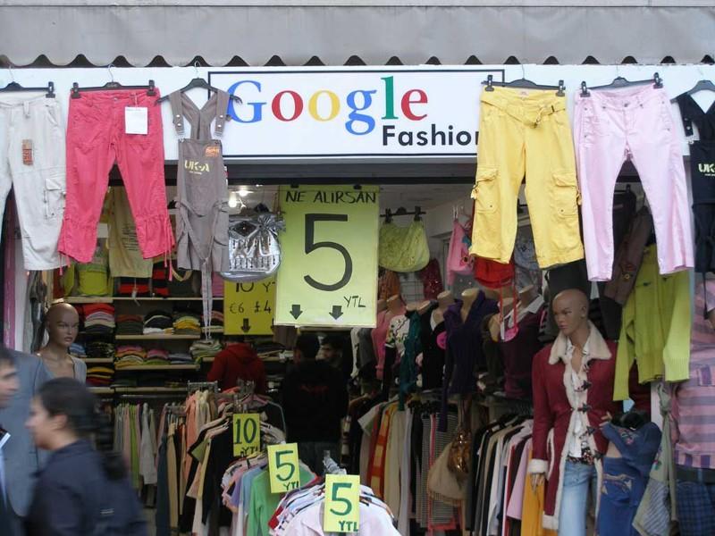 Тем временем Google запустил собственную линейку женской одежды.