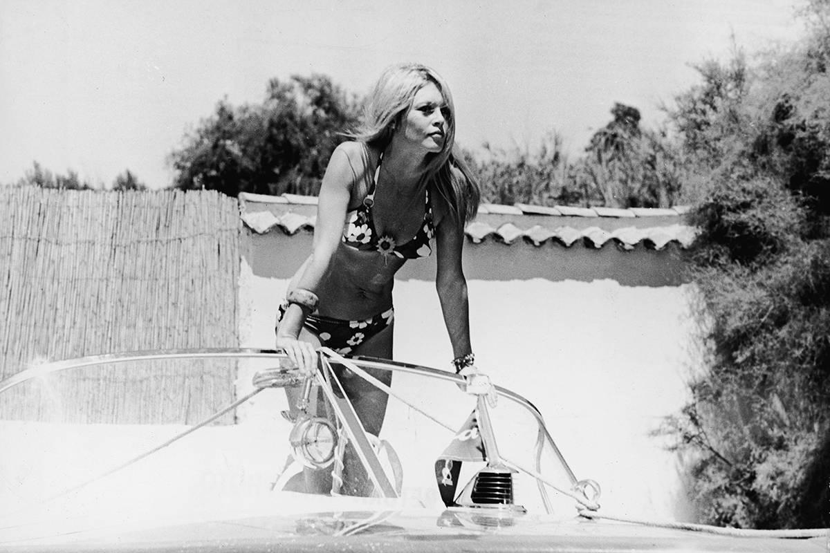 Брижит Бардо, Сан-Тропе, 1968.