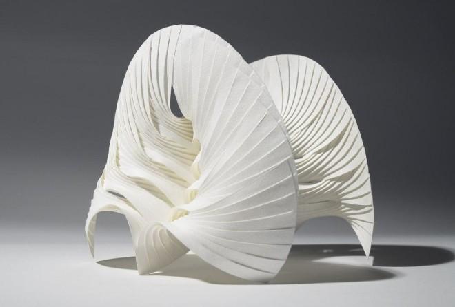 Бумажная пластика (10 фото)