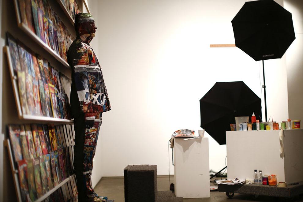 Каждый проект — это целая студия, в которой работают художники, ассистенты, специалисты по свет