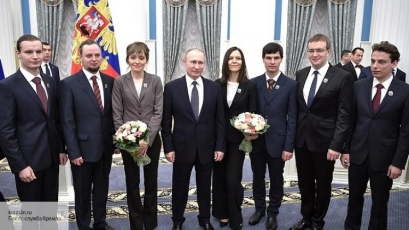Путин констатировал неотвратимость прекрасного будущего для РФ