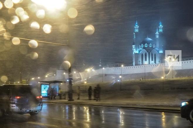 Мокрый снег игололедица ожидаются вНижегородской области 27марта