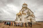 Храм Георгия Победоносца в микрорайоне Биатлон