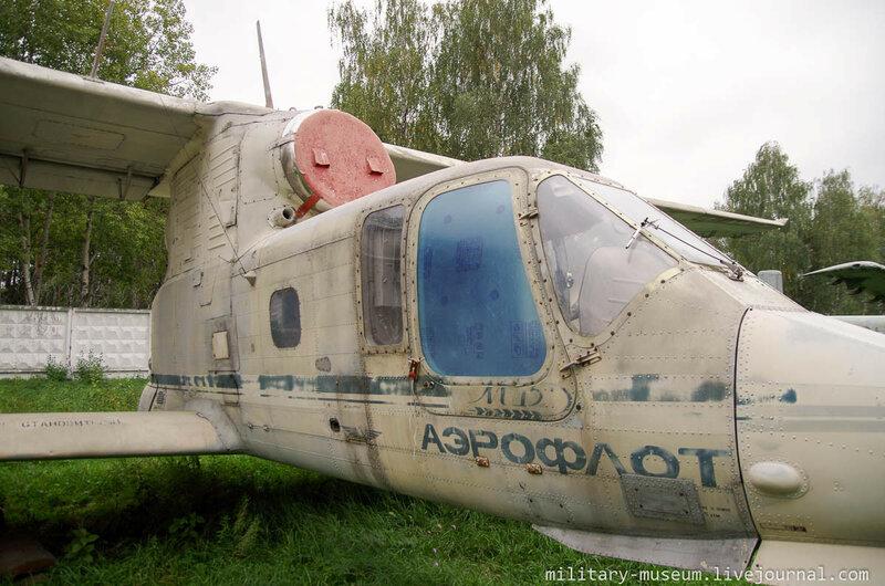 Самолёты и ветролёты в Монино