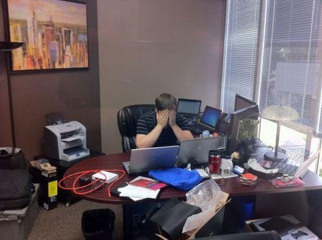 Тяжко на работе