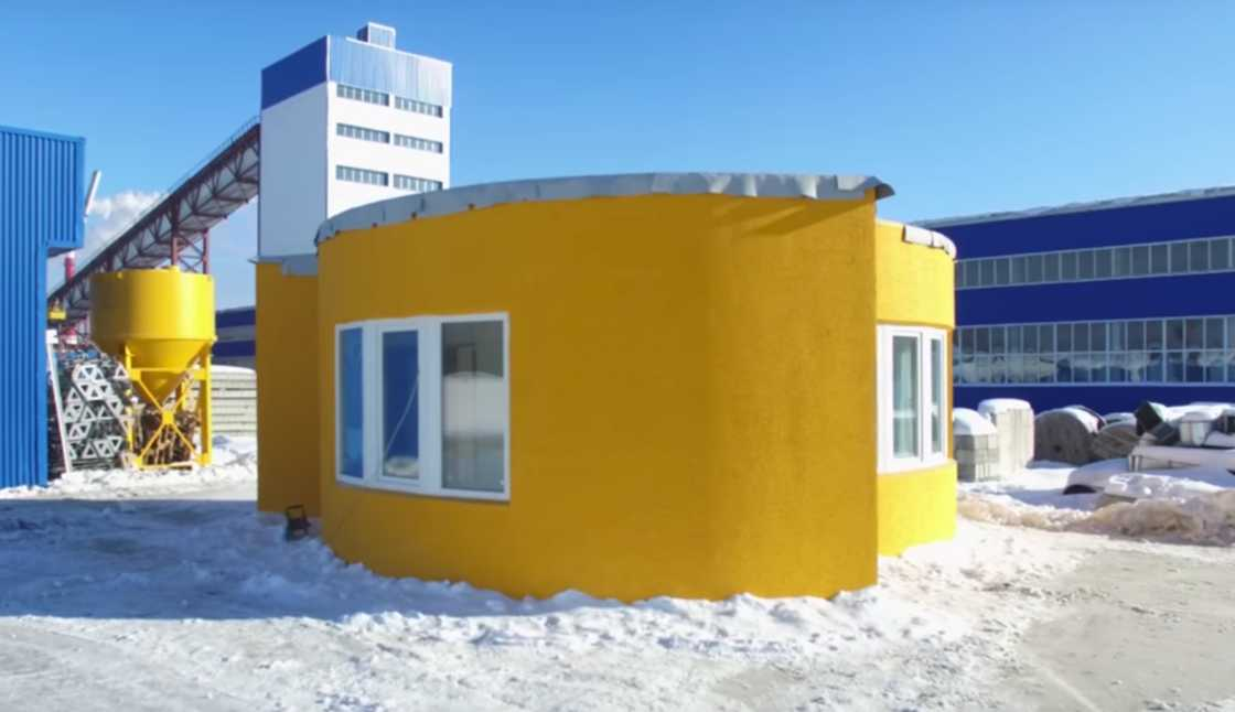 The first 3D printed house, in 24h and for less than $11,000