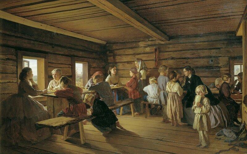 1 Alexander Ivanovich Morozov - Rural Free School.jpg