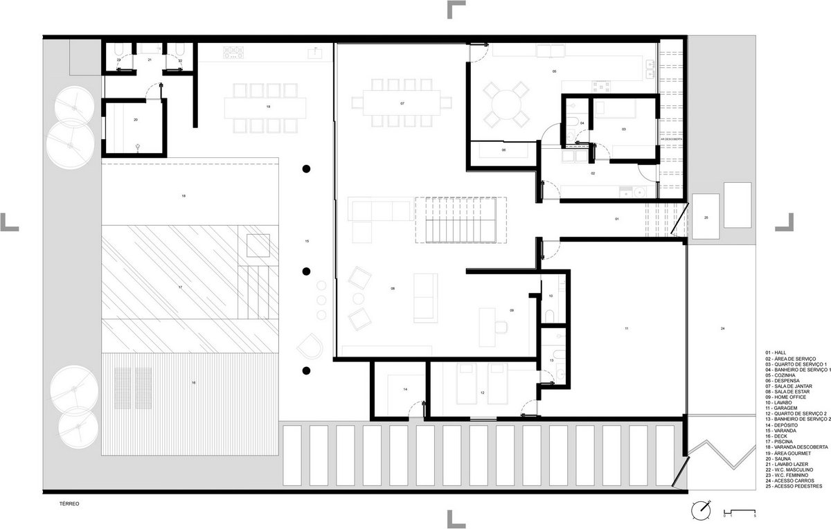 Планировка частного дома