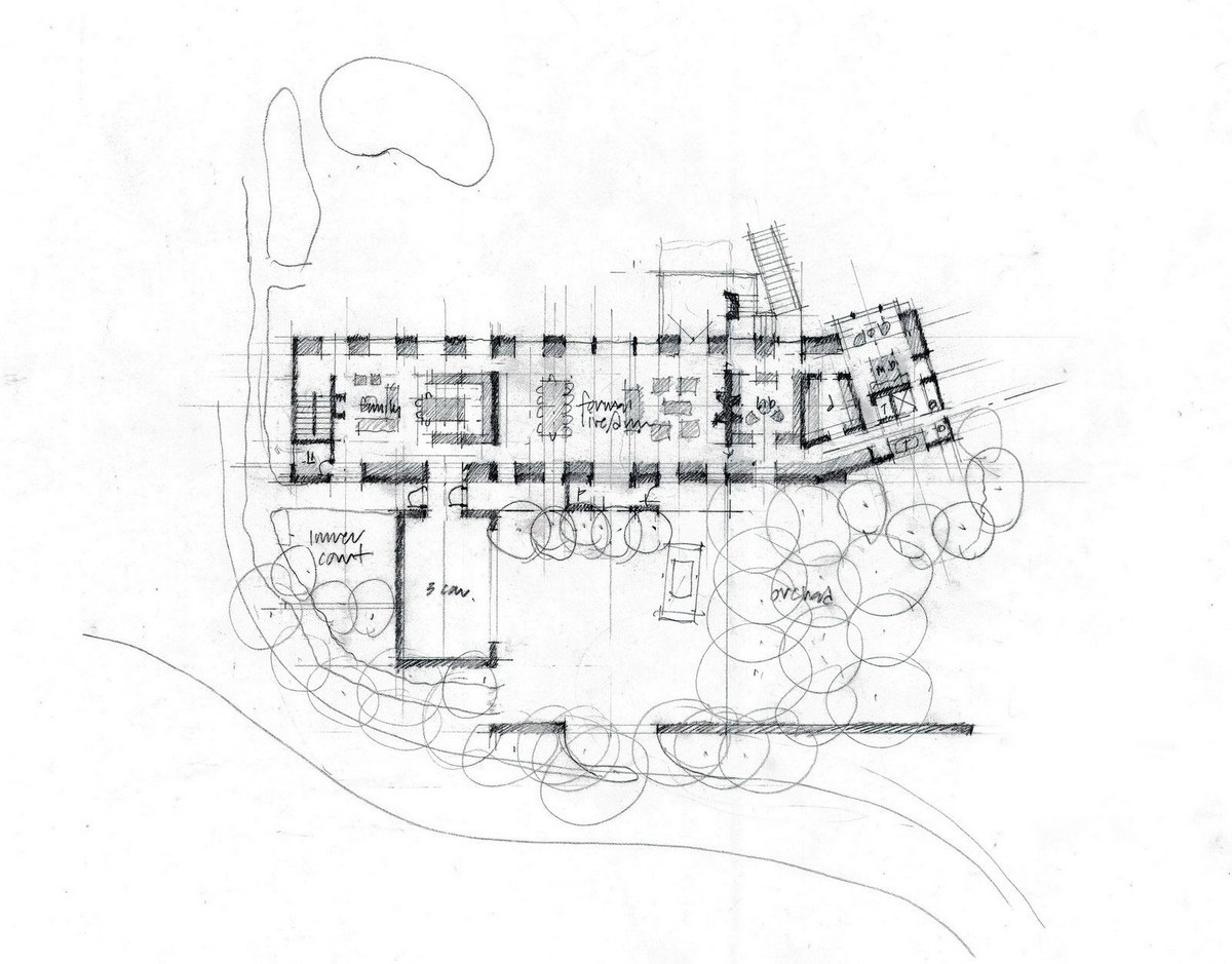 планировка частного дома в Портленде