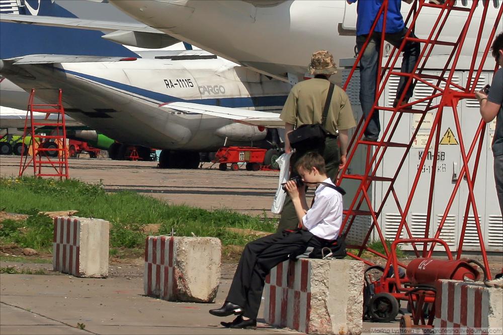Споттинг в Домодедово