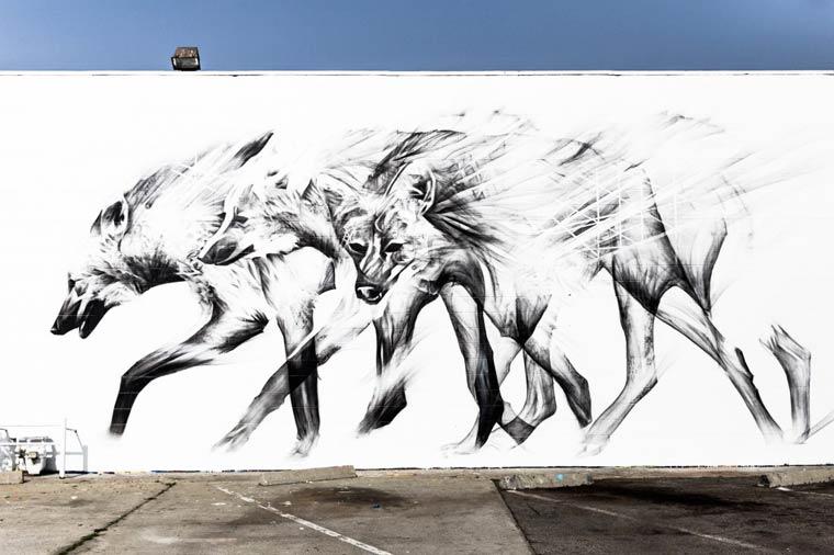 The amazing street art creations by Li-Hill