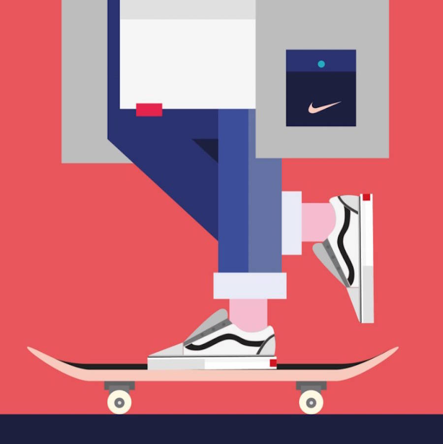 Trendy Digital Illustrations with Fashion Brands