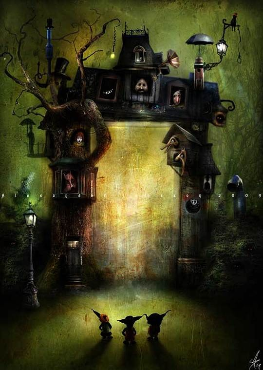 The Whimsical Art of Alexander Jansson
