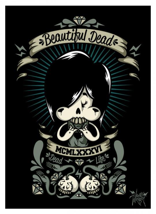 Cool Digital Illustrations by Johnny Terror