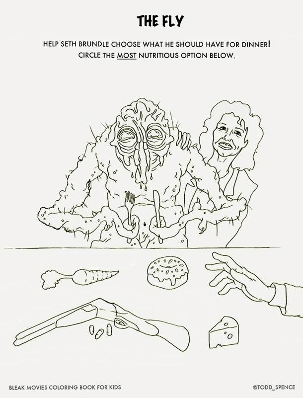 Les films d'horreur cultes version livre de coloriage…