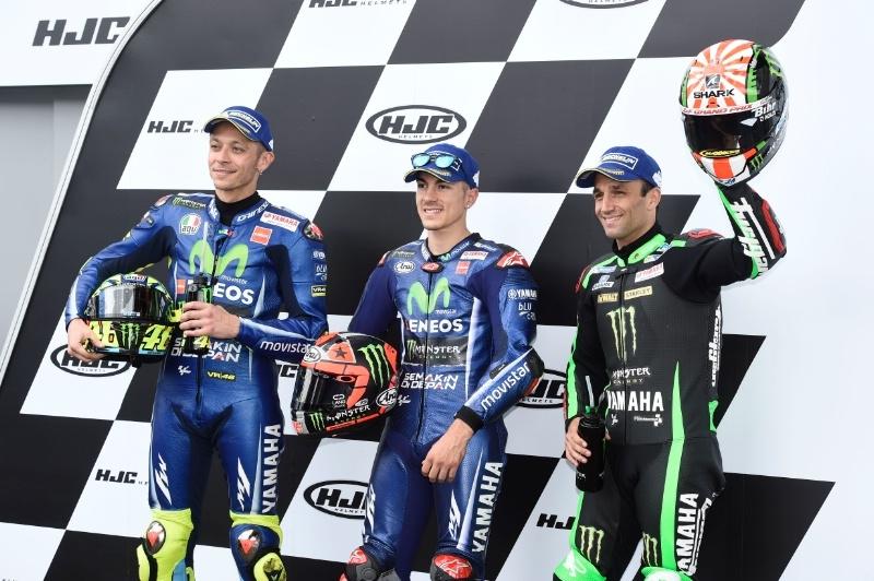 Гран При Ле-Мана 2017: результаты квалификации. Весь передний ряд за пилотами Yamaha