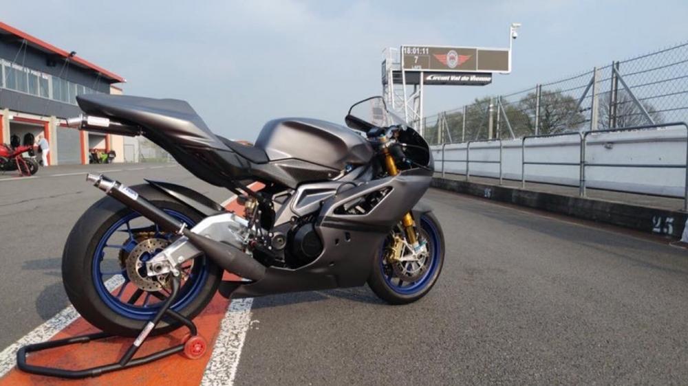 Японо-итальянский двухтактный спортбайк Aprilia RDV500