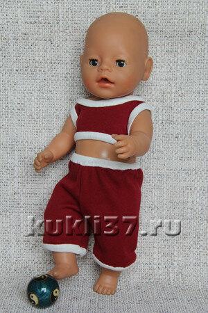 спортивный топ для куклы