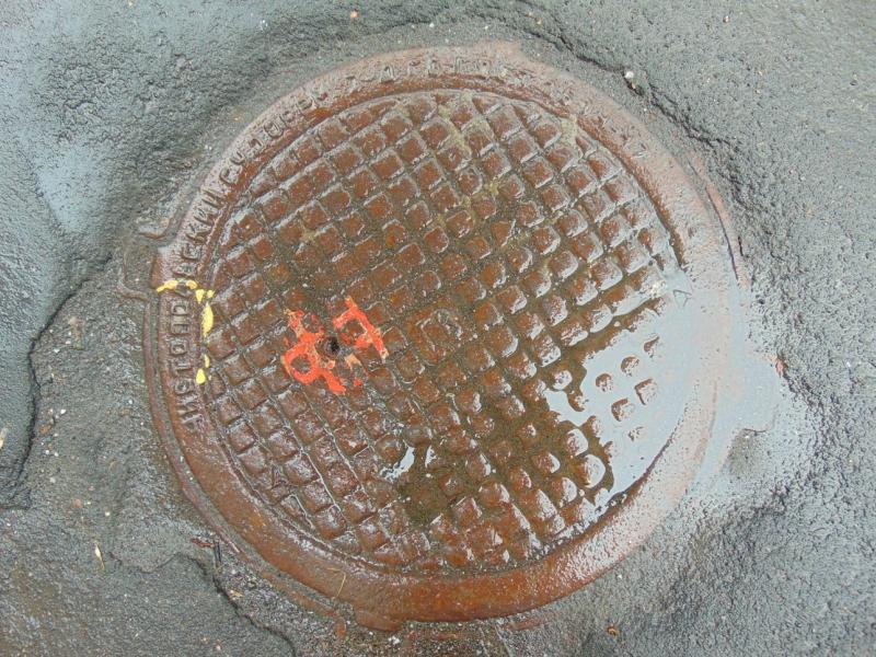 """Sewer manhole """"Chistopolsky Shipyard"""""""