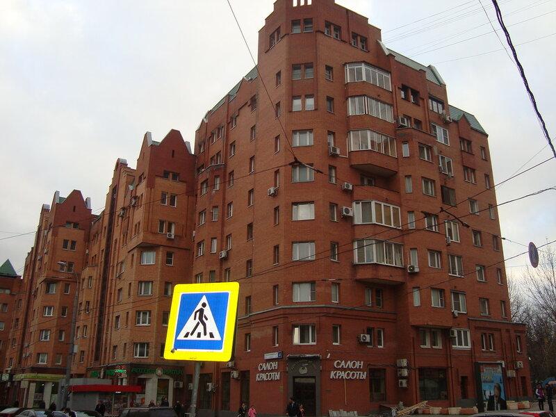 Москва. Селезнёвская ул., д.4
