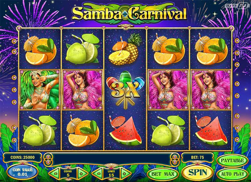 Samba Carnival слот