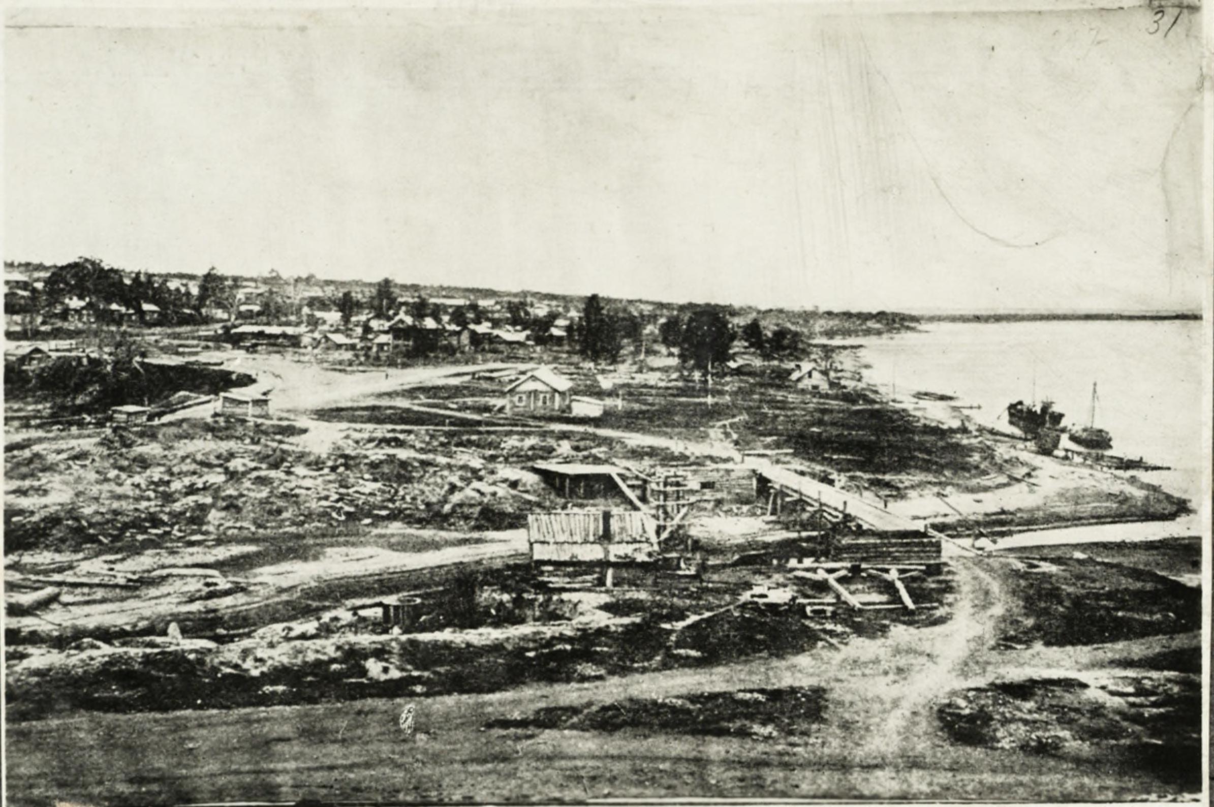 Устье реки Каменки в 1895