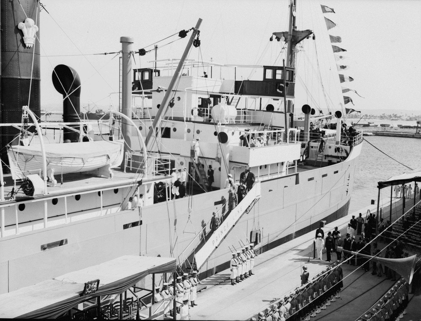 Открытие порта. 31.10. 1933.