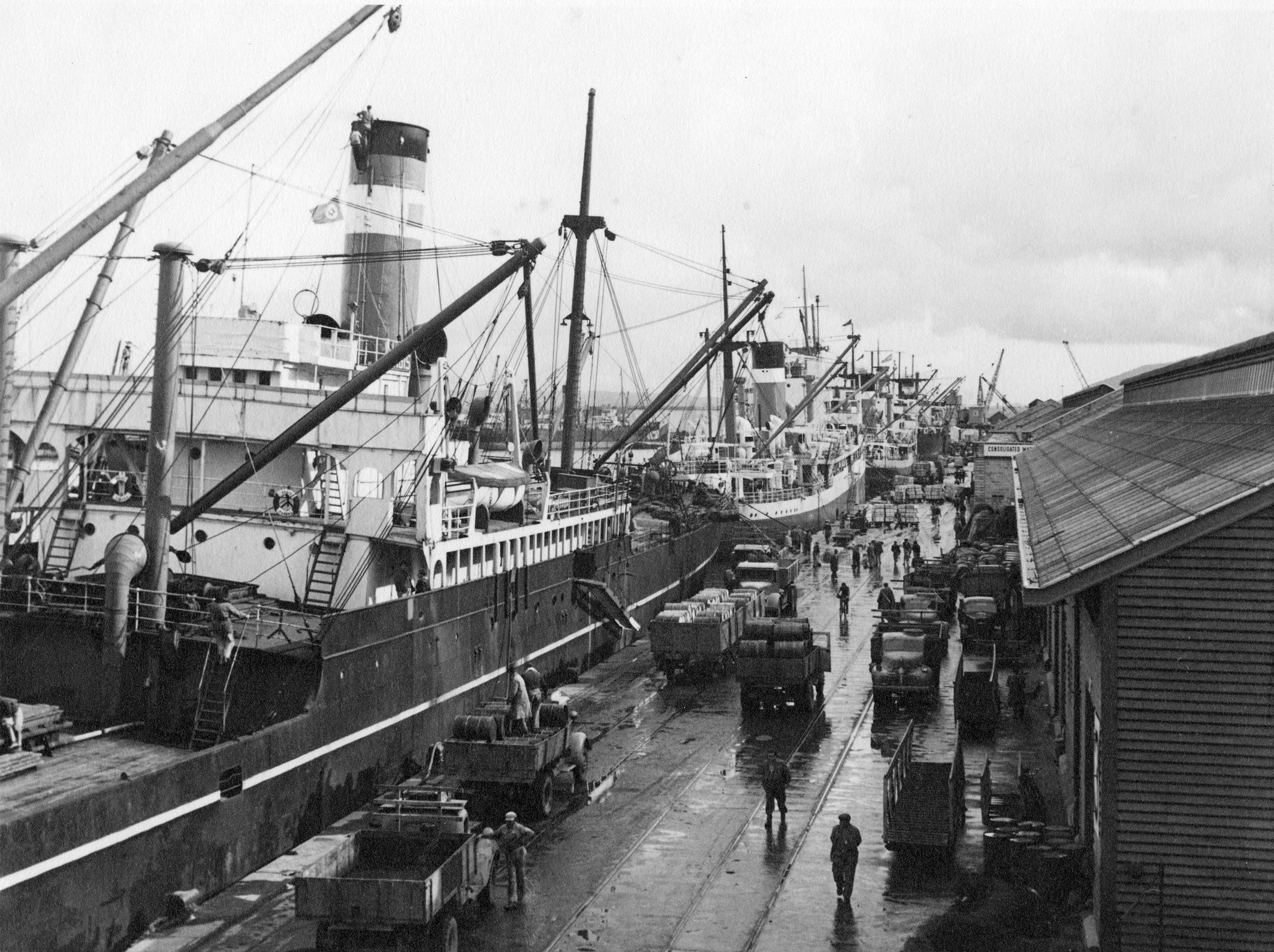 Время до появления порта