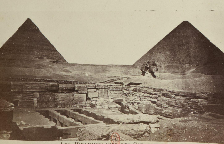 Гиза. Пирамиды. 1880-е